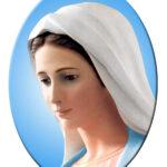 Madonna Medjugorje Ovale