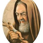 Padre Pio Ovale