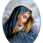 Vergine Addolorata Ovale